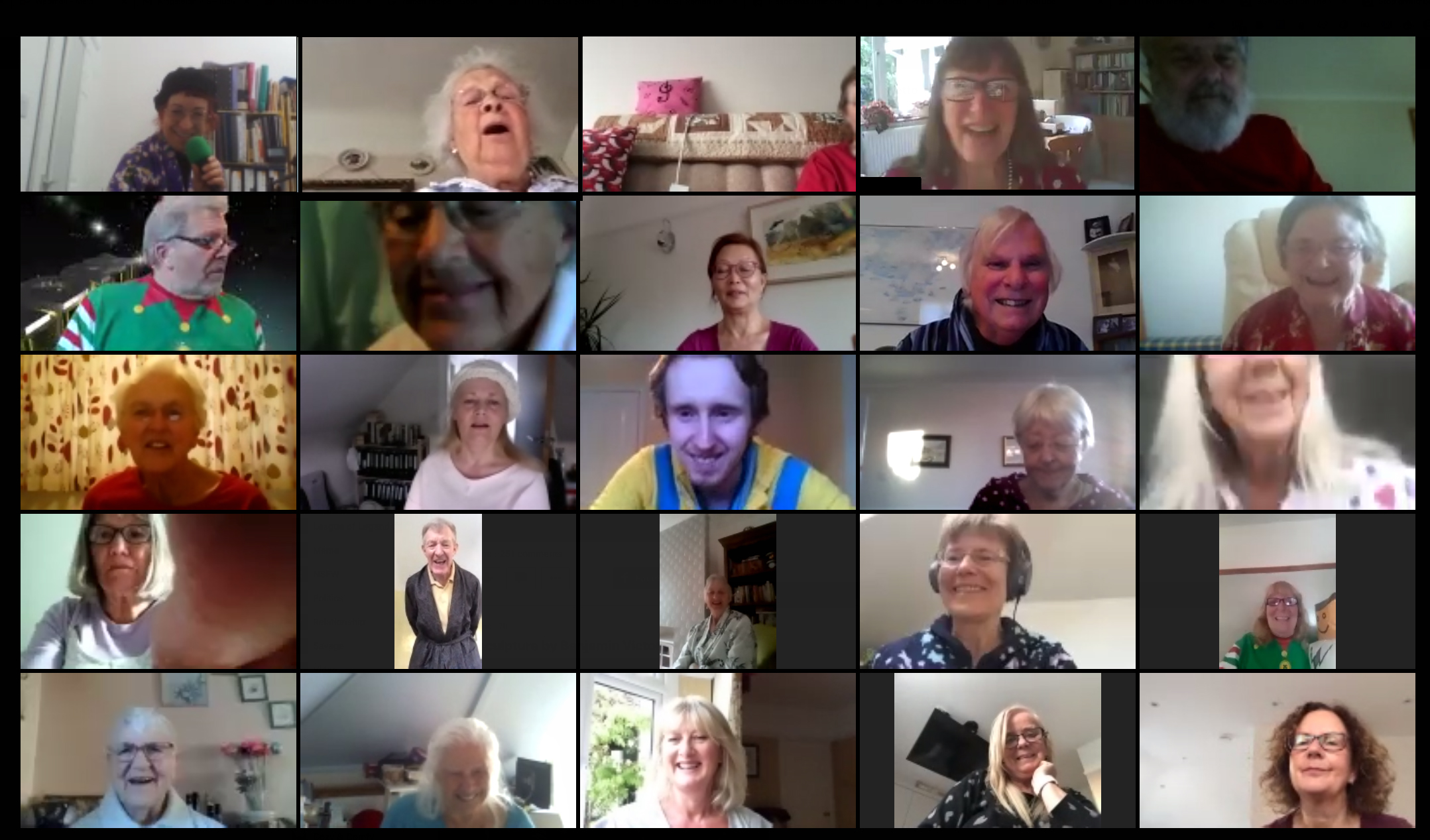 Tuesday 12th May Virtual Choir
