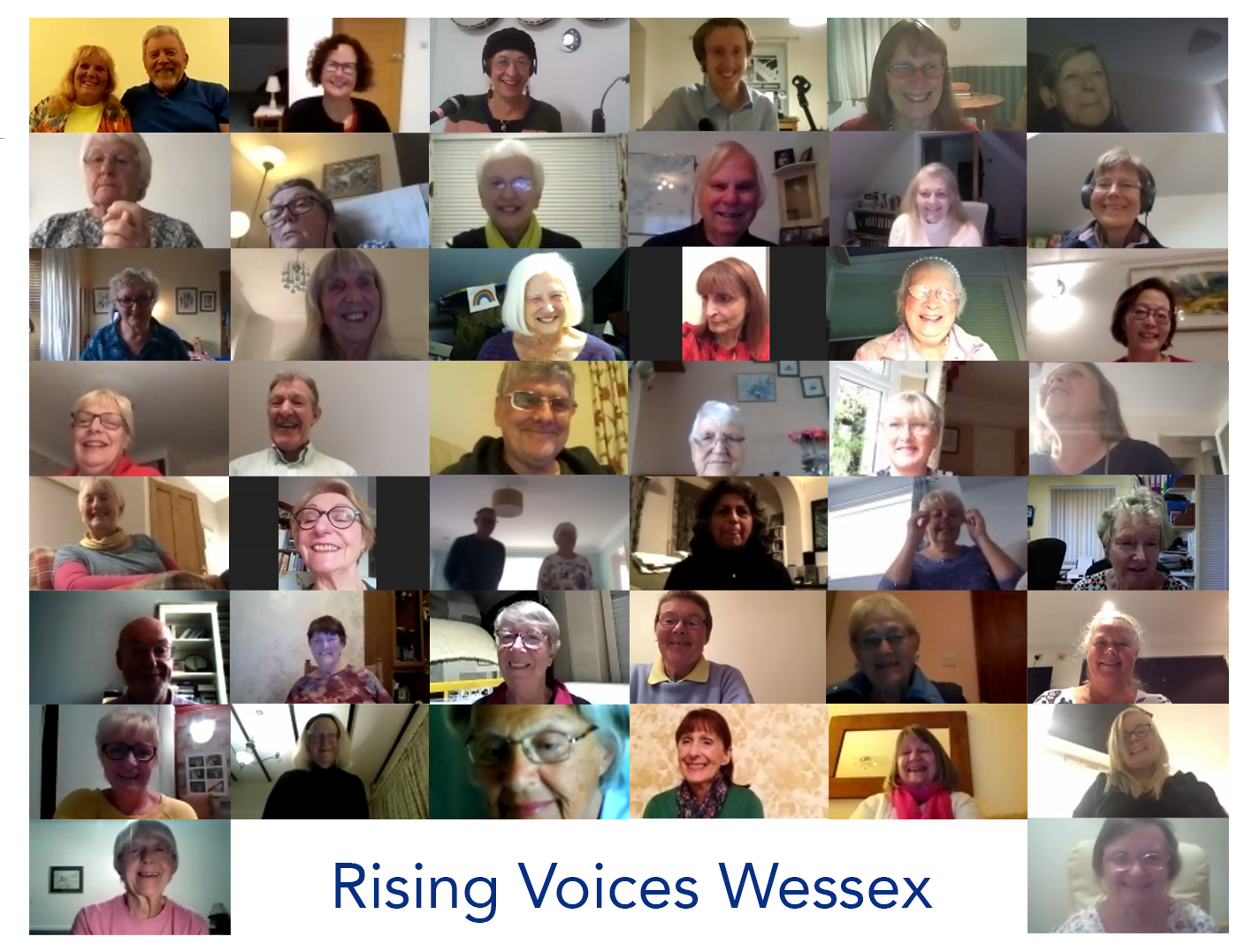 Rising Voices Online Choir Zoom